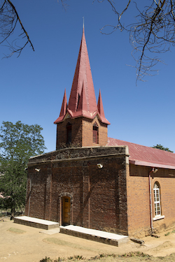 Evangelical Church, Morija, Lesotho